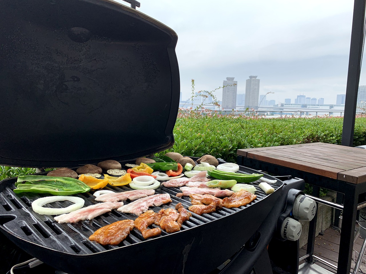 my grill gets wet